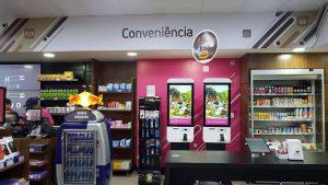 totens de autoatendimento para lojas de conveniencia
