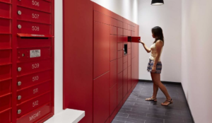 Smart Lockers Schalter